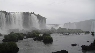 Looking up at the Falls, Iguazu Falls – Brazil Side Iguazu National Park Brazil