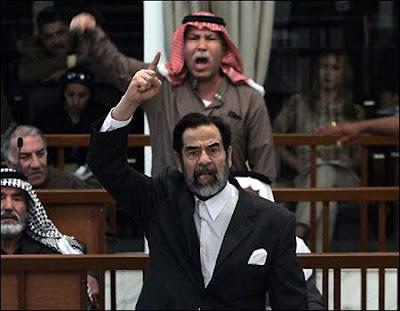 Saddam Hussein LIVES! SaddamTrial