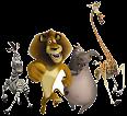 Madagascar-O Reino dos Animais-Png e Gifs