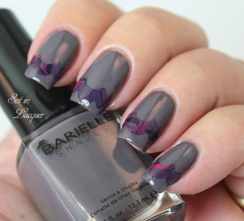 Craft scissor nail art