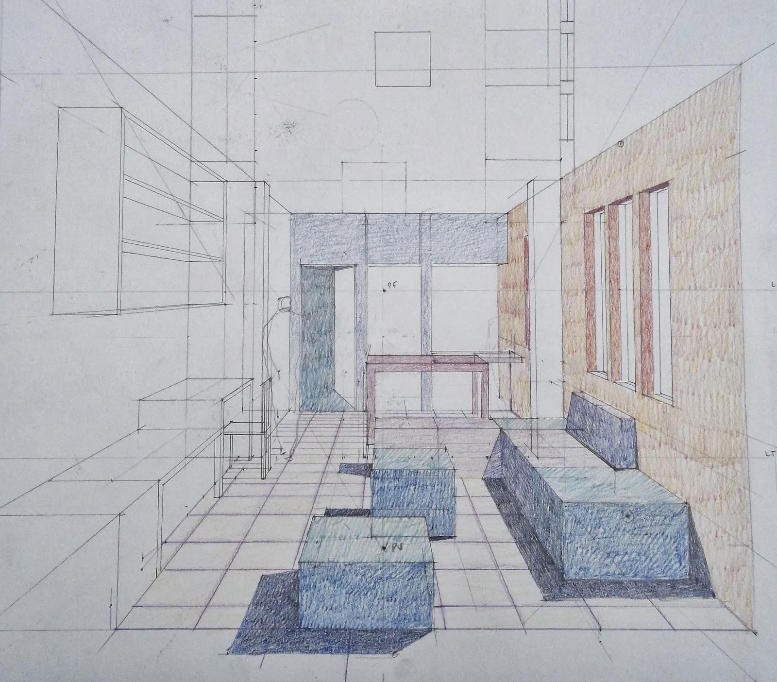 Luis fernando robles m perspectiva de espacio interior for Interior 1 arquitectura