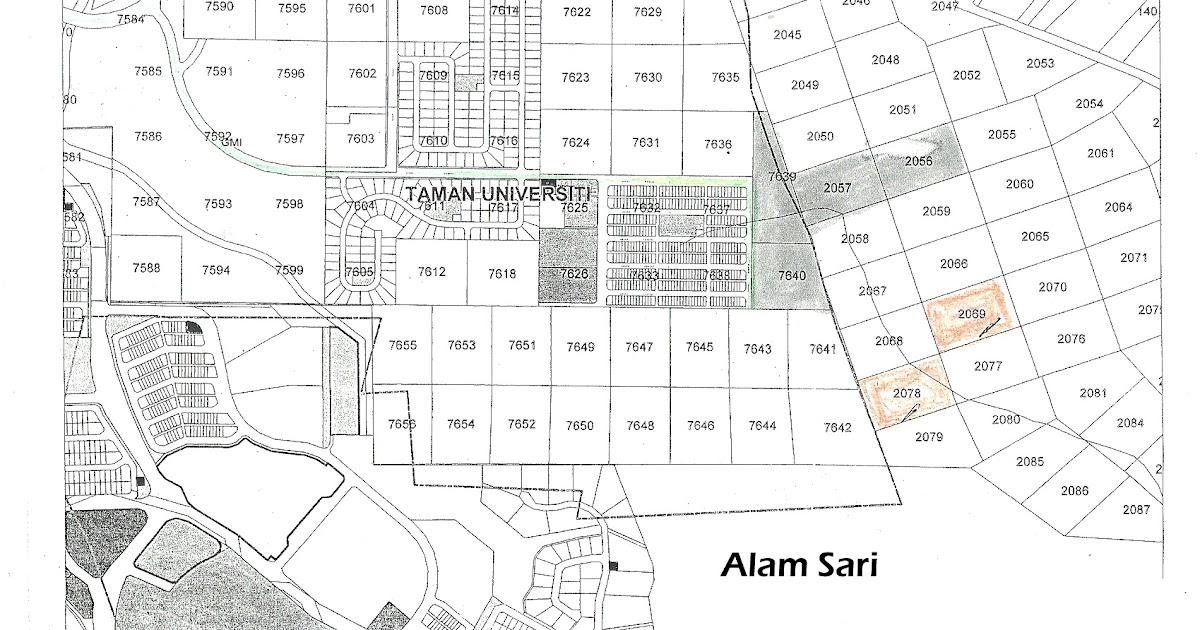 Land For Sale    Tanah Untuk Dijual  Taman Universiti
