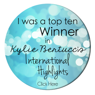 Kylie's International Highlights Winners Badge