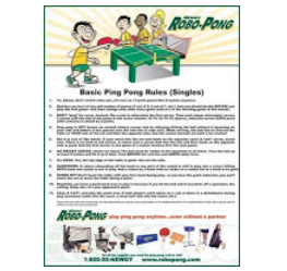 Frugal freebies free table tennis rules poster all for 10 table tennis rules