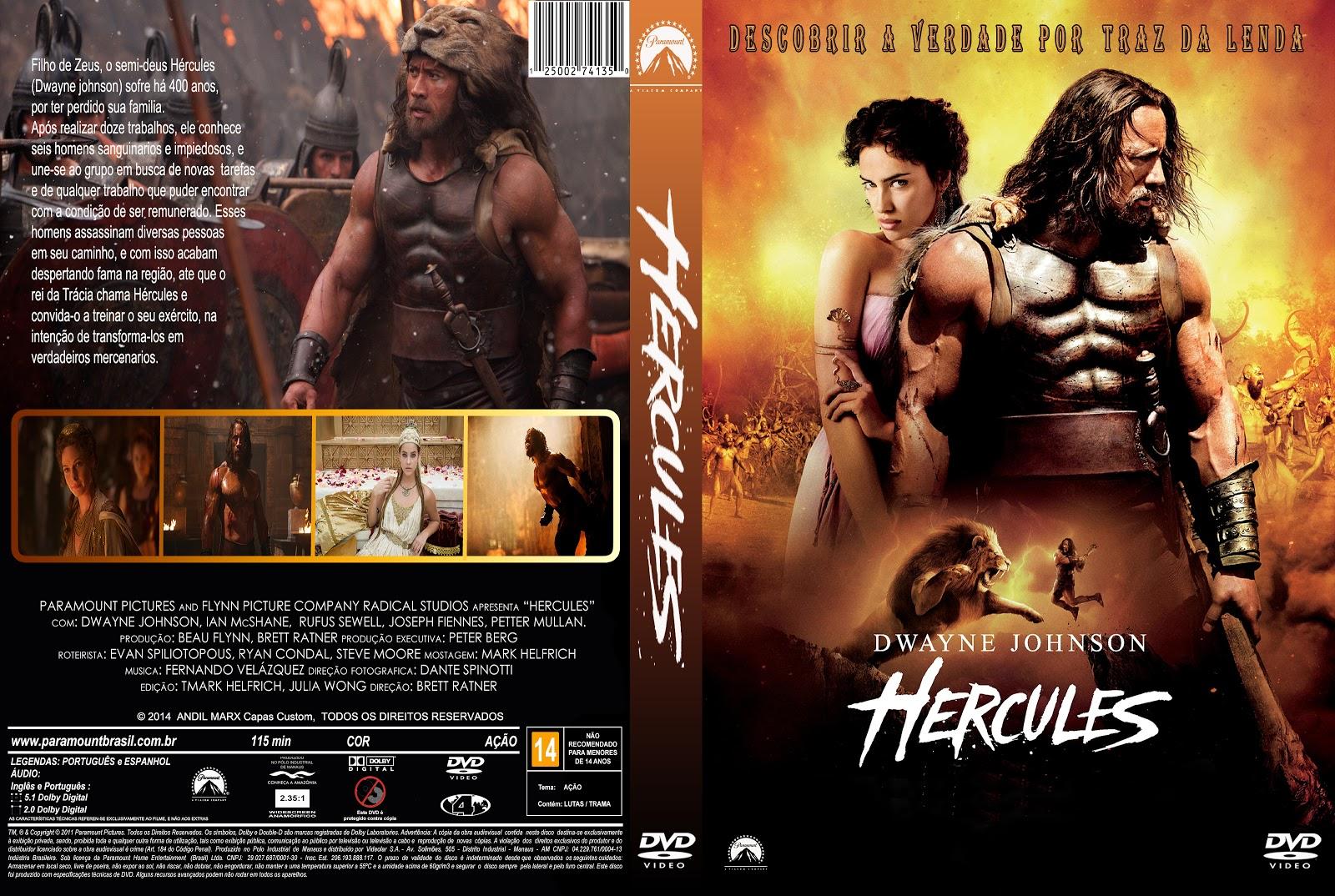 Capa DVD Hercules