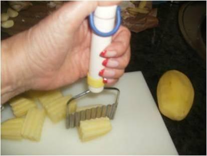 Patatas fritas con ajos perejil y vinagre la cocina de - Calorias boquerones en vinagre ...