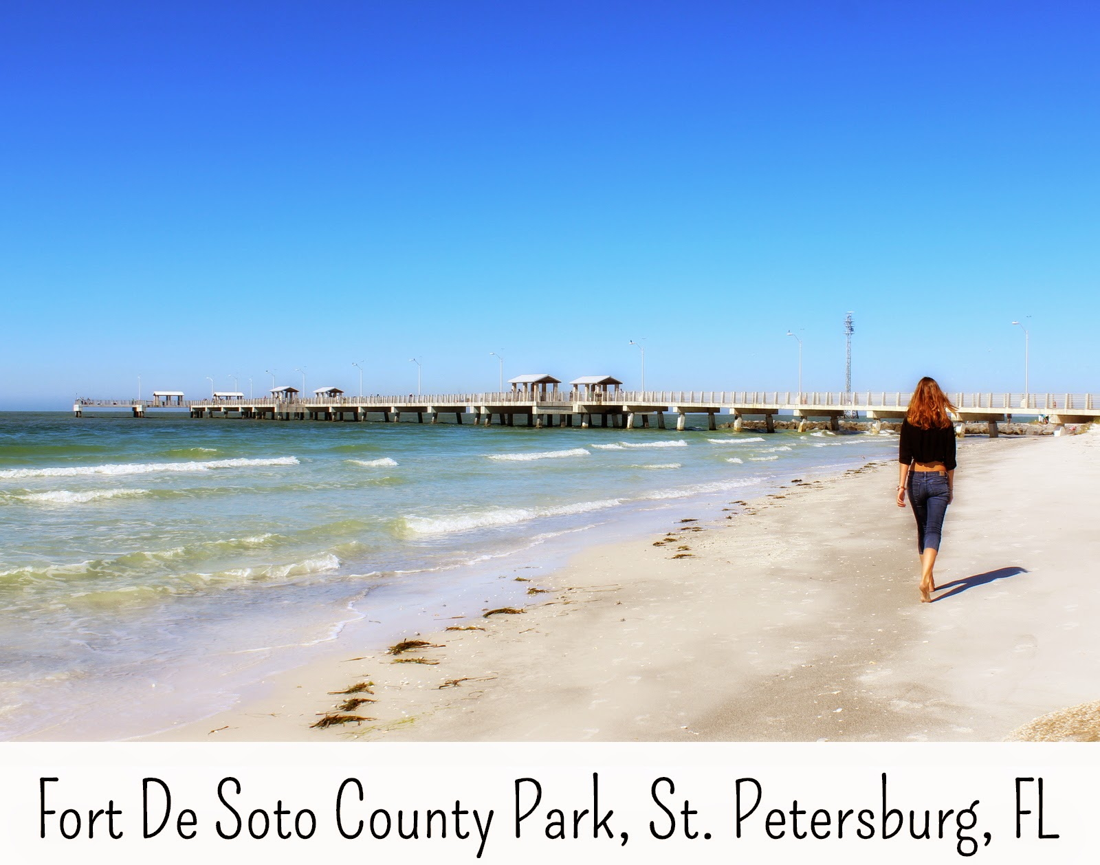 Fort De Soto County Park, St. Petersburg, FL beach and campground
