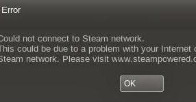 steam network problem