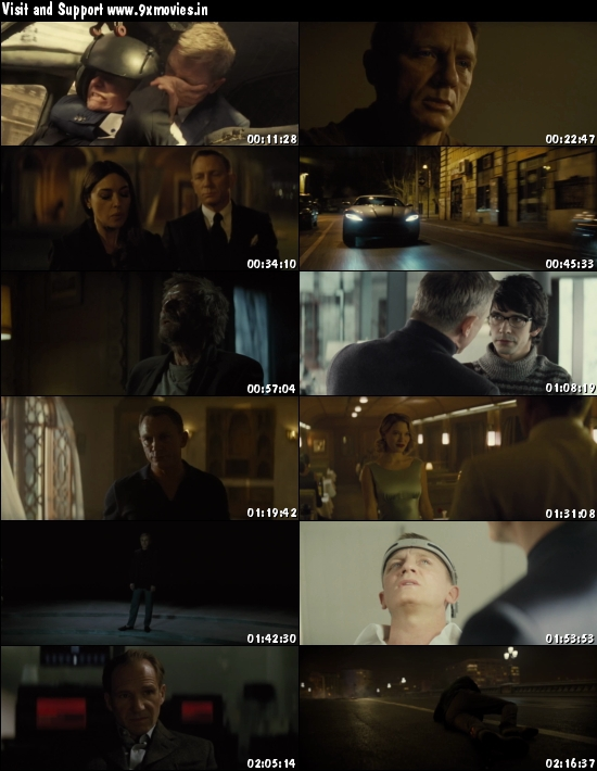 Spectre 2015 Dual Audio Hindi DD 5.1 720p BluRay 1.1GB