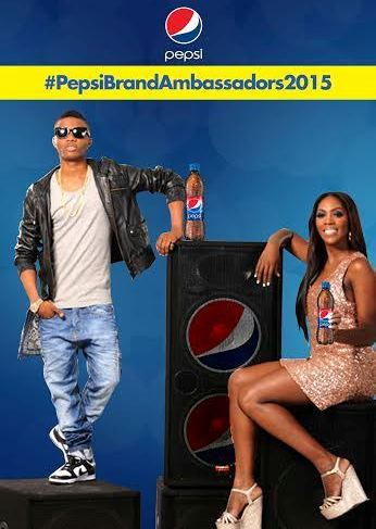 Wizkid and Tiwa Savage Re-signed As Pepsi Brand Ambassadors