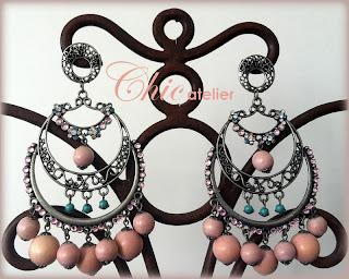 Tendencias pendientes y moda flamenca