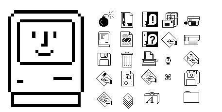 Macintosh 128K, interfaz grafica