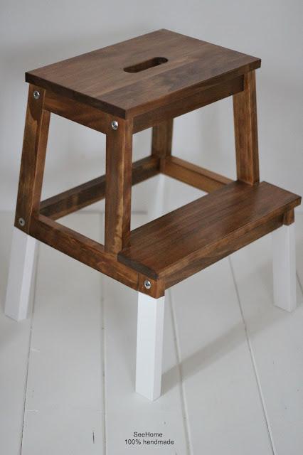 Politura,Ikea,Renowacja mebli,Schodek,Krzesła kuchenne