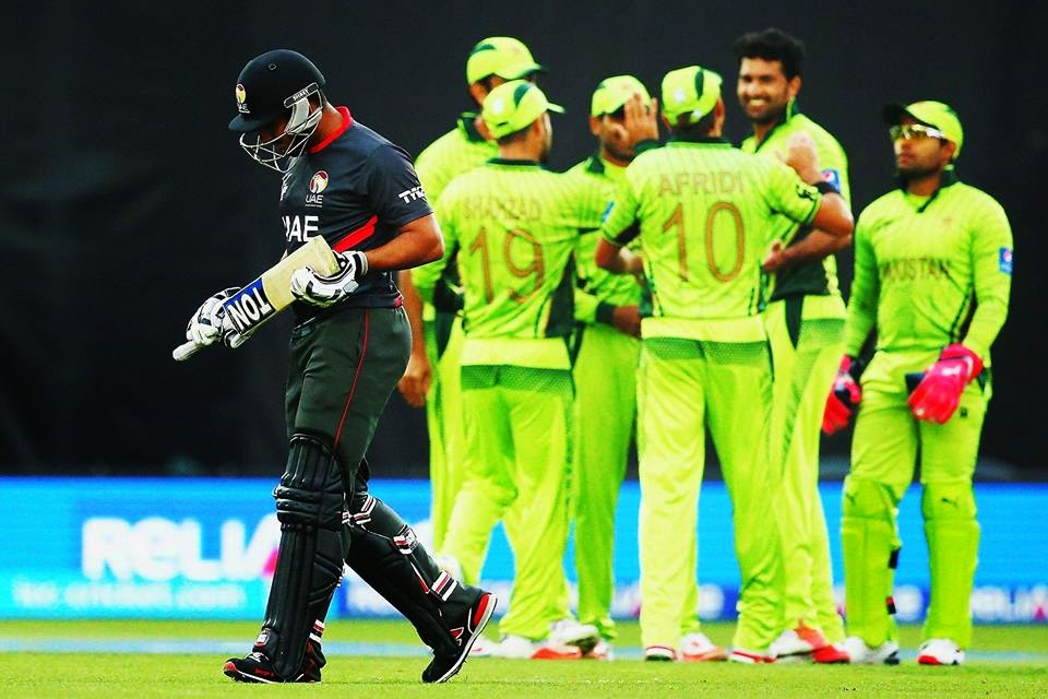 Pakistan won by 129 runs over UAE