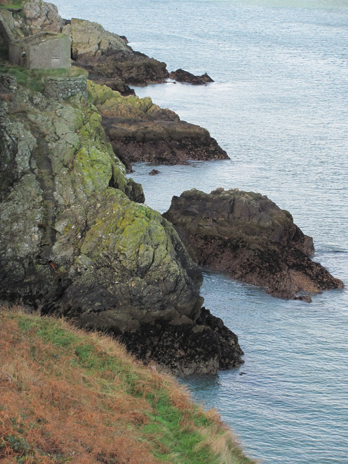 Craggy Cliffs in Howth, Co. Dublin, Ireland