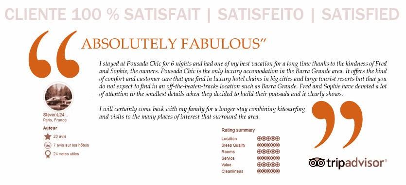 http://www.tripadvisor.fr/Hotel_Review-g3844531-d2032937-Reviews-Pousada_Chic-Barra_Grande_State_of_Piaui.html
