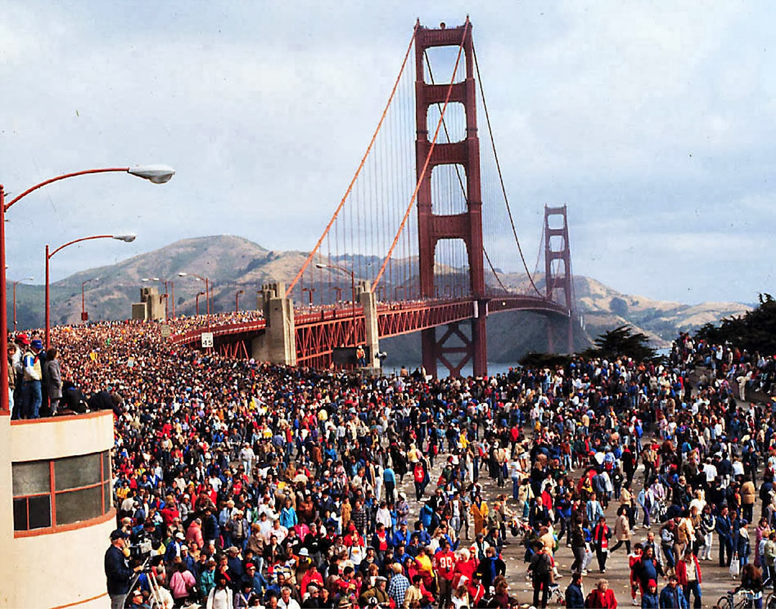 Pictures Of The Golden Gate Bridge 50th Anniversary