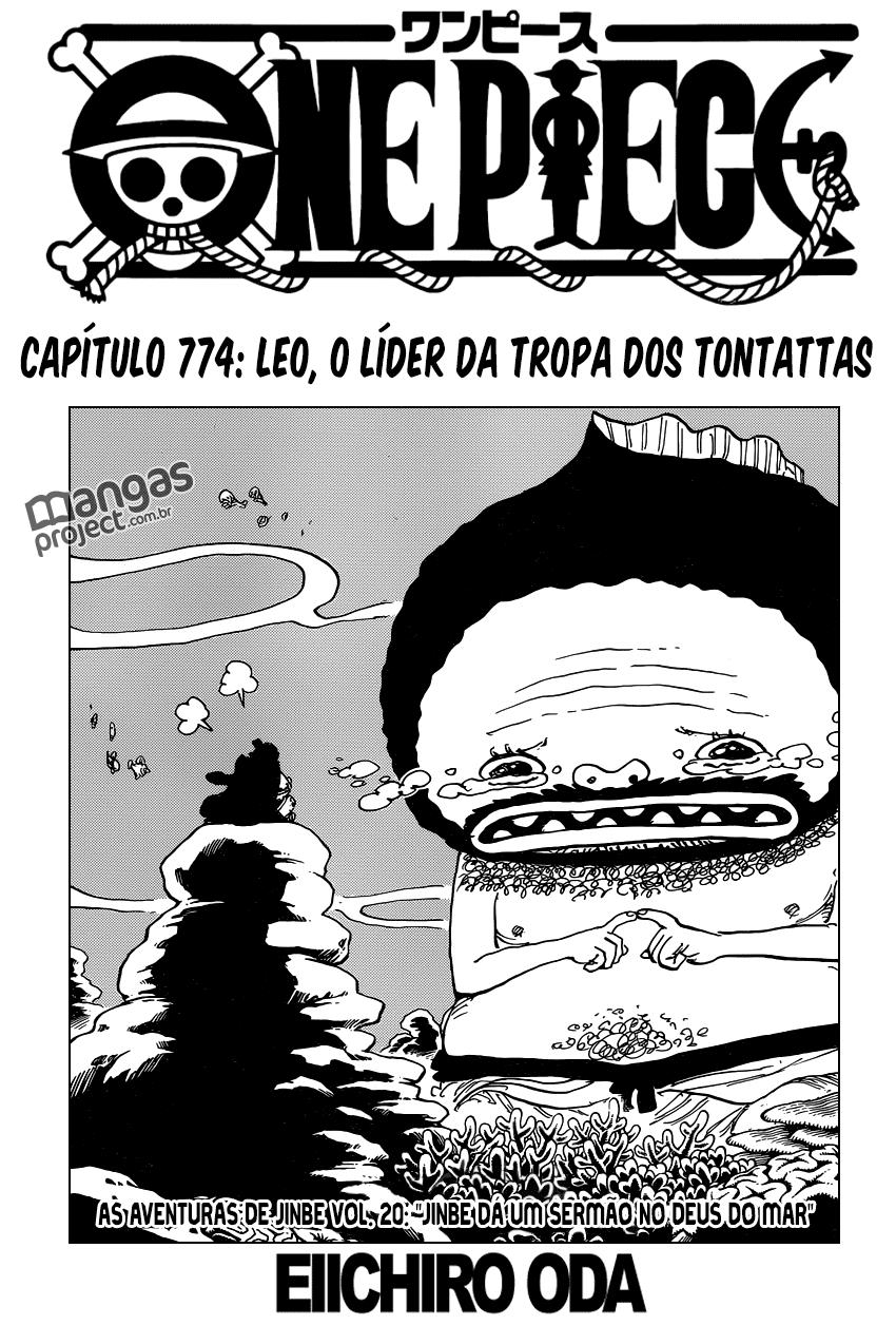One Piece 774 Mangá Português leitura online
