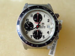 TUDOR TIGER PRINCE DATE CHRONOGRAPH WHITE PANDA DIAL - AUTOMATIC