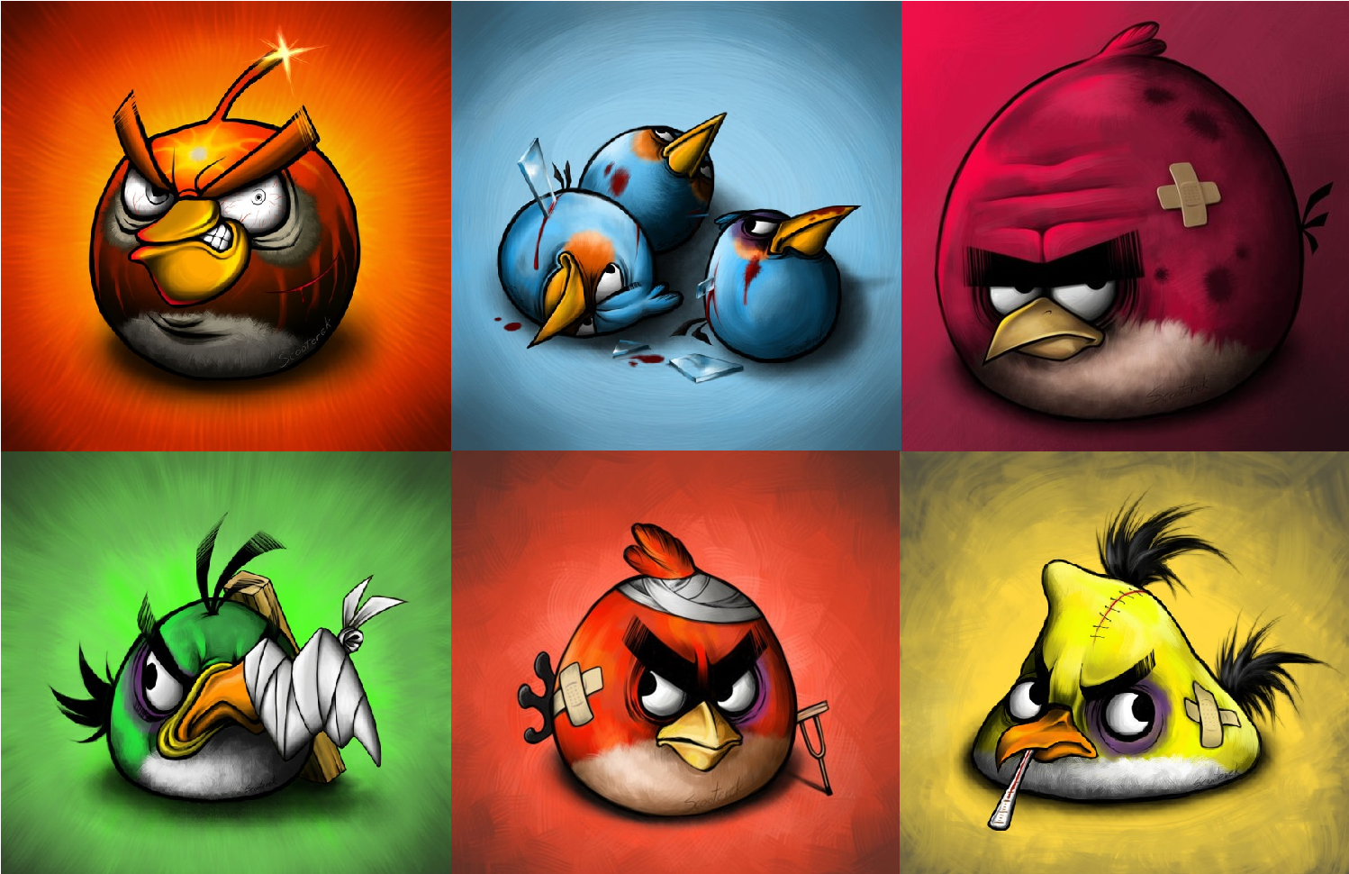 Angry Bird Space Wallpaper 3d
