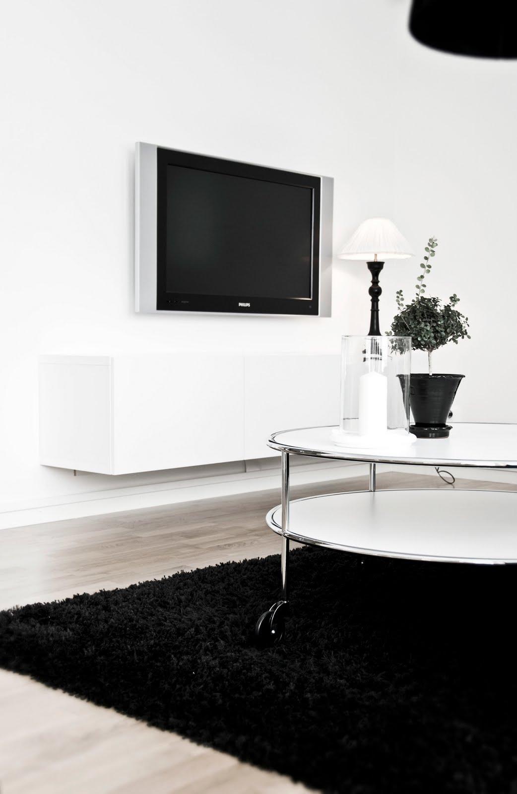 Mitt vita hus: hos oss i vardagsrummet