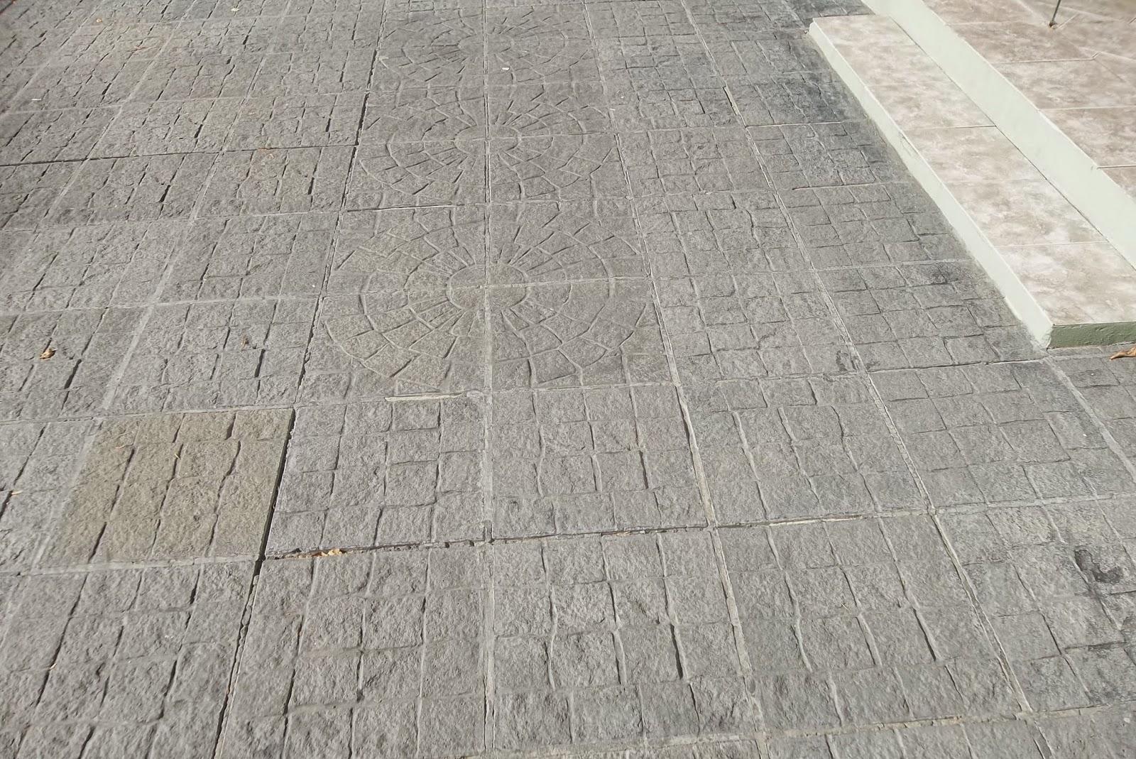 Premoldeados el muro baldosas y pisos - Baldosas de hormigon para exterior ...