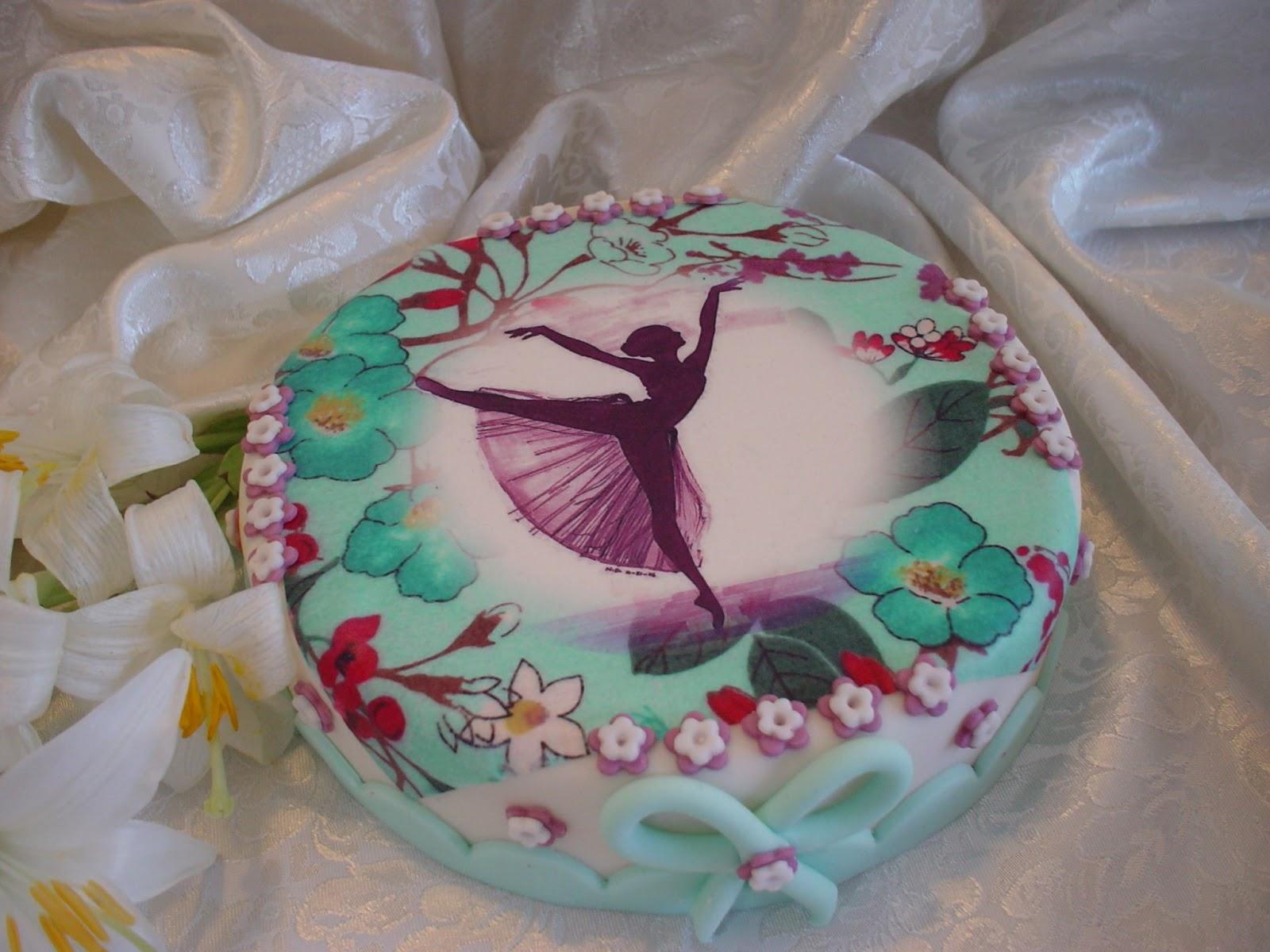 Disegni Di Ballerine Da Disegnare : Zuccheri dartificio: la ballerina la torta e il creativo con la c