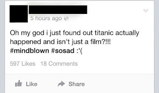 titanic happened confirmed