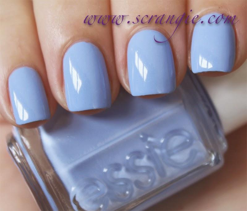 Blue Nail Polish Names: Scrangie