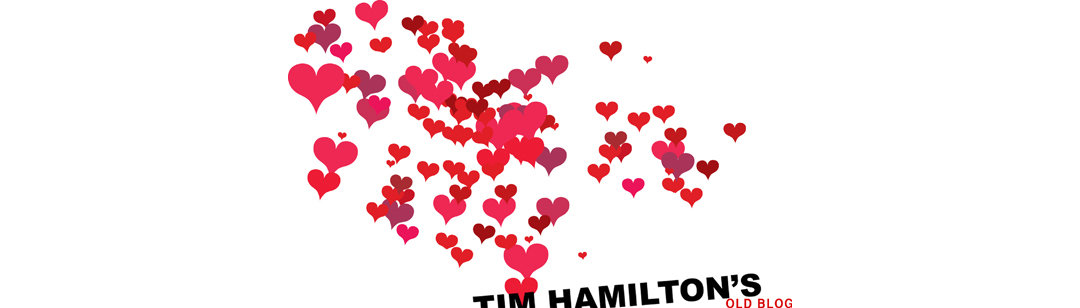 Tim Hamilton has an art blog