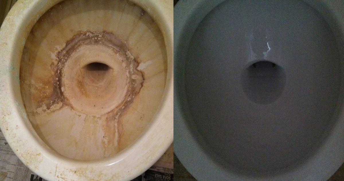 how to fix a dirty toilet