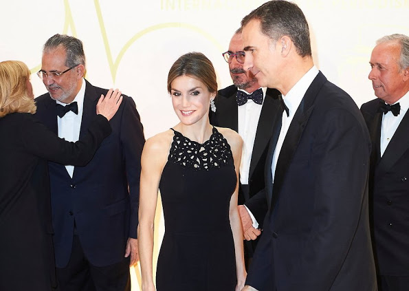 King Felipe And Queen Letizia Attends Mariano De Cavia Awards