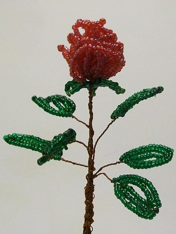 Кустовая роза бисероплетение для самых начинающих