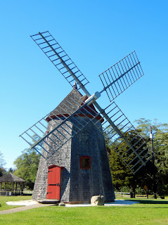 Historic windmill in Eastham, MA