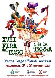 cartell de la fira de vallgorguina 2012