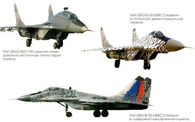 Окраска МиГ-29 фото