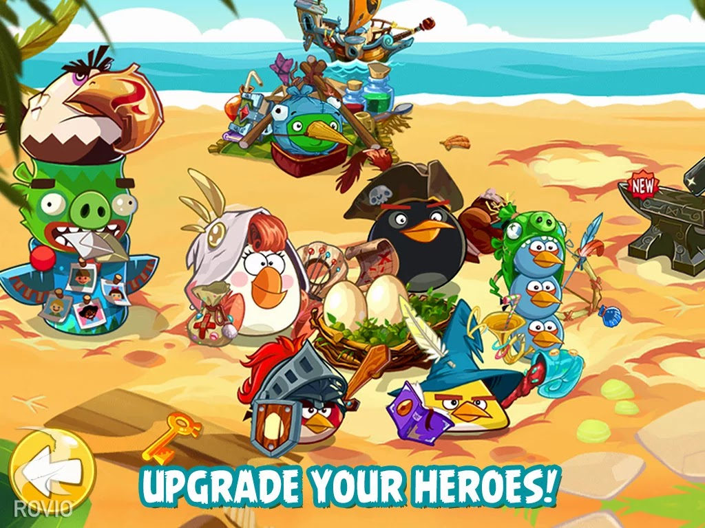 Angry Birds Epic v1.0.8 Mod [Unlimited Money]