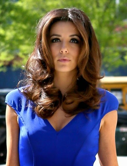 Eva Longoria Easy Medium Waves Hairstyles