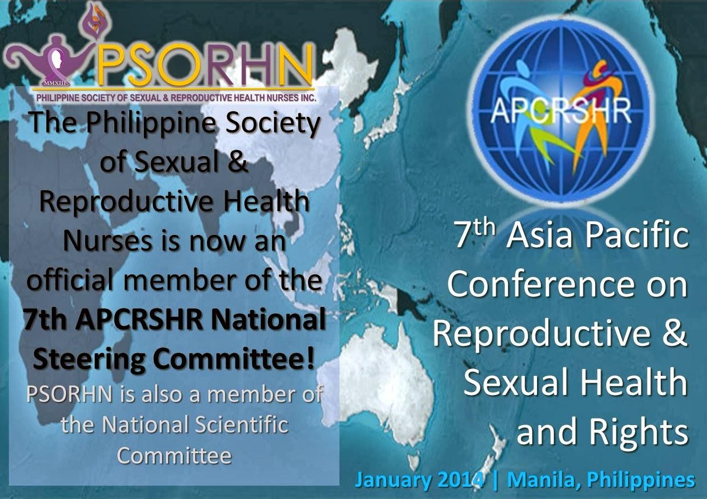 7th APCRSHR JAN 2014 MANILA