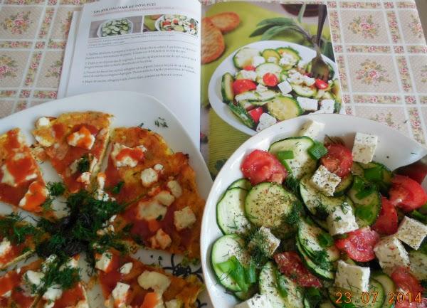 salata italiana de zucchini