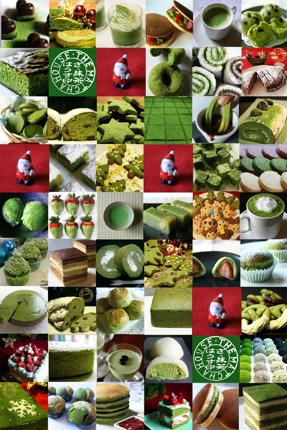 MERRY MATCHA X'MAS!! COOK WITH JAPANESE GREEN TEA MATCHA  IN THIS CHRISTMAS!!