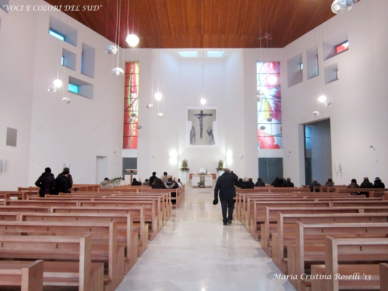 Voci e colori del sud una nuova chiesa per molfetta la for Interno delle piantagioni del sud