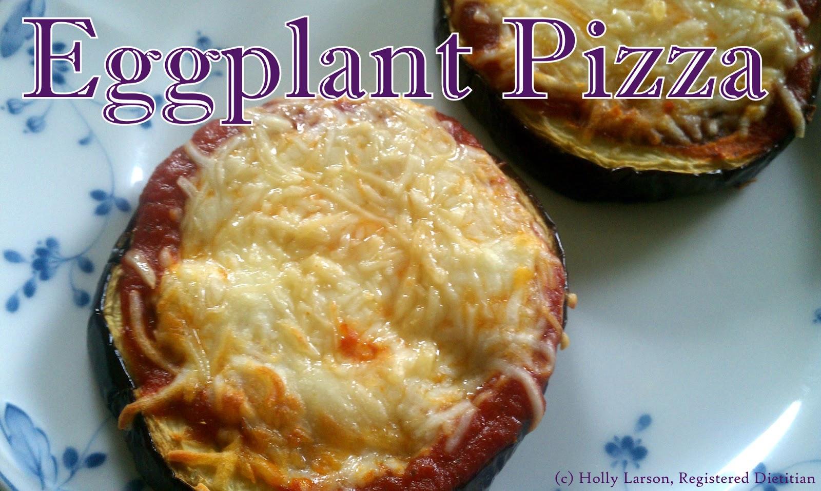 Dinner in a flash: Eggplant mini pizzas