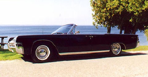 Lincoln Convertible Early 1963 Automatic Rear Windows