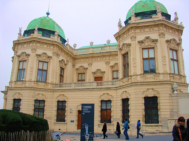 The Belvedere Palace in Vienna is home to Gustav Klimt's 'The Kiss.'