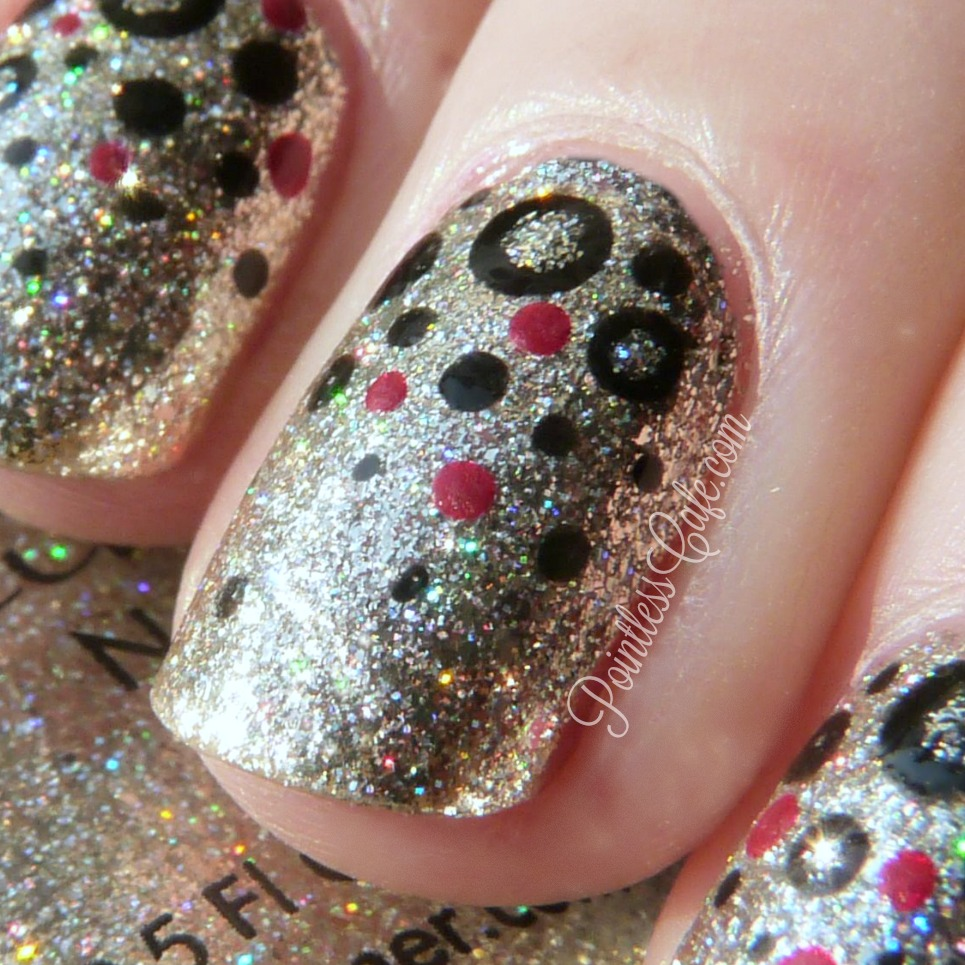 40 Great Nail Art Ideas: Happy New Year! | Pointless Cafe