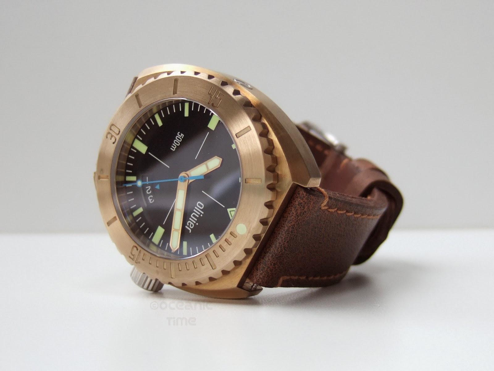 All best watches olivier bronze diver eta n 8 - Bronze dive watch ...
