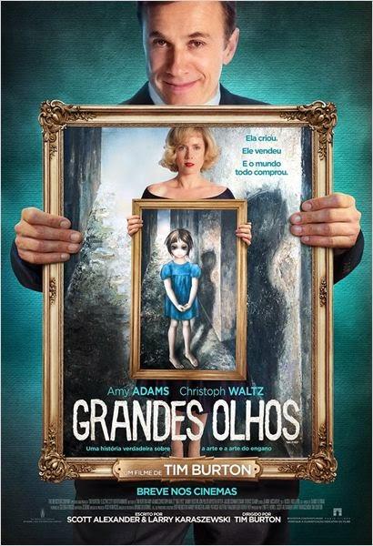 Pôster/capa/cartaz nacional de GRANDES OLHOS (Big Eyes)