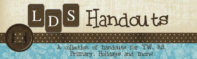 LDS Handouts
