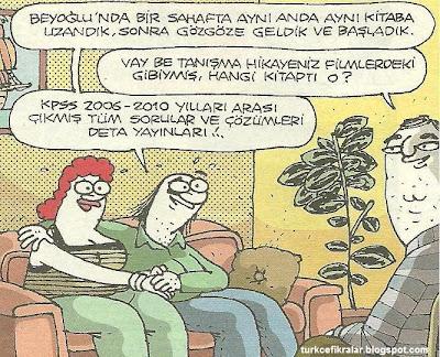 Kpss İle Gelen Aşk - Komik Karikatür
